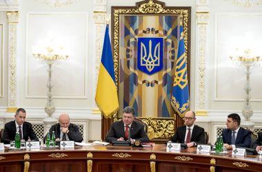 На заседании СНБО обcуждали ситуацию в Донбассе, государственную и энергетическую безопасность