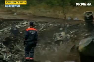 Эксперты из Нидерландов начали собирать обломки на месте крушения малазийского Боинга
