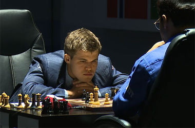 "<p>Магнус Карлсен vs Виши Ананд. Фото <a href=""http://en.chessbase.com/post/world-championship-01-first-fight-first-draw"" target=""_blank"">chessbase</a></p>"