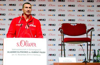 Пулев не явился на пресс-конференцию с Кличко