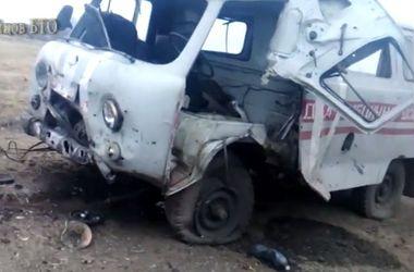 Бойцы 19-го Николаевского батальона показали, как попали под минометный обстрел террористов