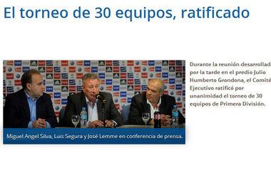 Высшую лигу чемпионата Аргентины увеличат сразу на 10 клубов