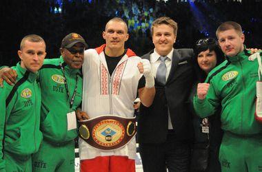 Усик проведет защиту титула интерконтинентального чемпиона 13 декабря