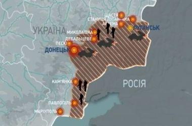 Где идут бои: самые опасные зоны в Донбассе