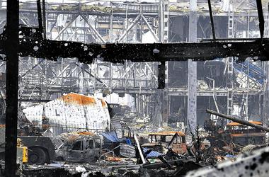 """В донецком аэропорту ранены пять """"киборгов"""" – пресс-центр АТО"""