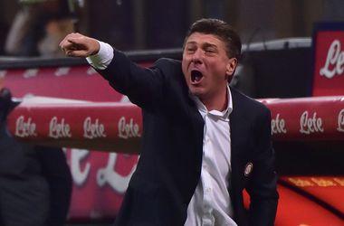 """""""Интер"""" подтвердил, что уволил своего тренера Вальтера Маццари"""
