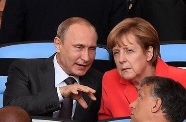 Кулуарная встреча Меркель и Путина  длилась более часа