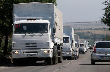 Седьмая колонна российской гуманитарной помощи прибыла в Донецк
