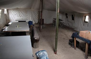 Как украинские бойцы готовятся к зиме в зоне АТО