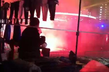 Хорватские фанаты устроили беспорядки в Милане и ограбили своих же журналистов