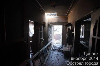Обстановка в Донецке: руины и временное затишье