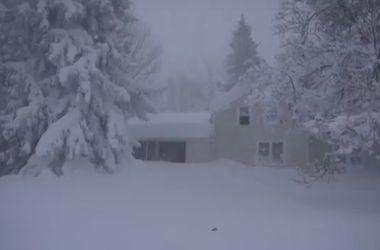 На север США обрушился сильнейший снегопад