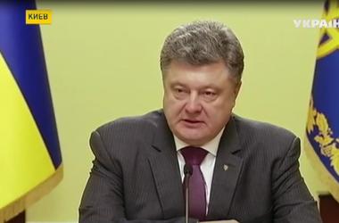 """Петр Порошенко подписал закон о """"Внутренне перемещенных лицах"""""""