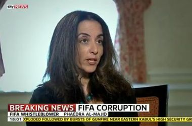 Девушка-информатор ФИФА по делу о коррупции боится за свою жизнь