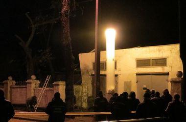 Прокуратура квалифицировала взрыв в Харькове как преднамеренное повреждение имущества