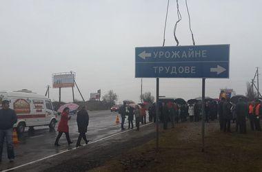 В Крыму убирают дорожные знаки на украинском языке