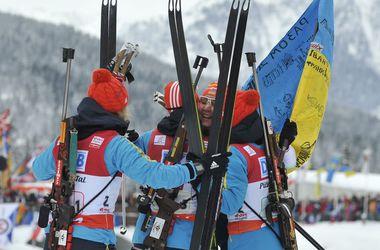 Состав сборной Украины на первый этап Кубка мира по биатлону