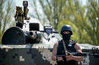 Потери сил АТО за сутки составляют 4 погибших и 10 раненых – пресс-центр