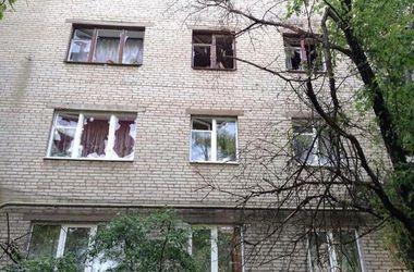 В одну из донецких квартир залетел неразорвавшийся снаряд