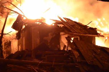 Ночью боевики обстреляли жилые дома Макеевки