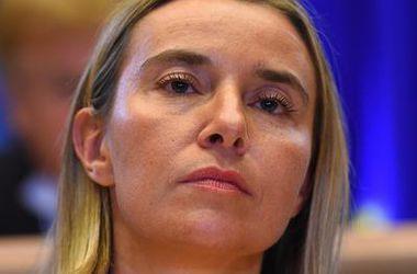 Переговоры по Донбассу следовало начать раньше - Могерини