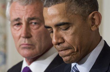Обама подтвердил отставку министра обороны Чака Хейгела