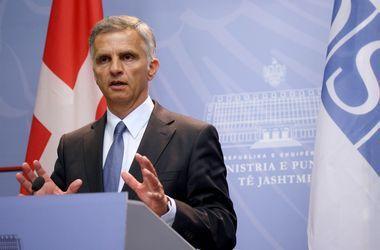 Глава ОБСЕ призывает к мирному решению конфликта на Донбассе
