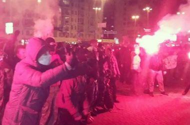 В результате стычек перед концертом Ани Лорак в Киеве пострадали 7 правоохранителей