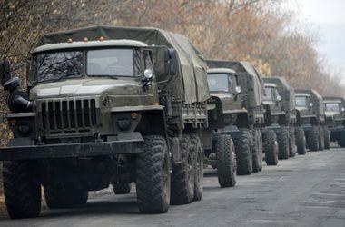 ОБСЕ зафиксировала возле Харцызска 10 грузовиков без опознавательных знаков