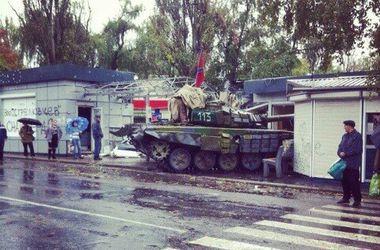 Боевики в Донецке получили танковое подкрепление – Тымчук