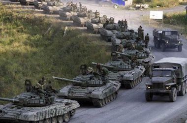 """В Донбасс из России въехали 11 танков, 2 """"Тигра"""" и 12 грузовиков – СНБО"""