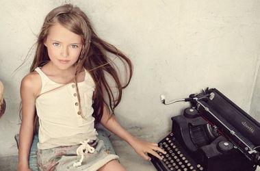 """Дочь российского футболиста назвали """"самой красивой девочкой в мире"""""""