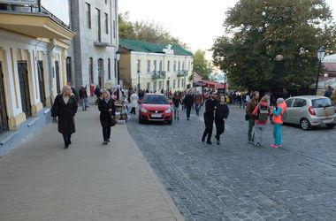 В Киеве перекрыли Андреевский спуск