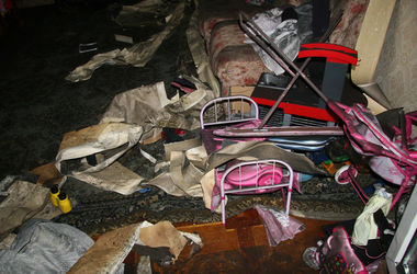Пожар в харьковской многоэтажке унес жизнь двоих детей