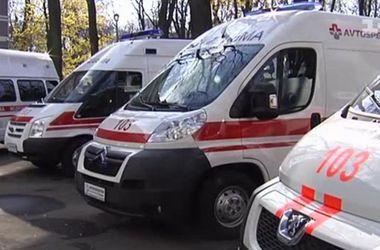 В Харьковской области перевернулся рейсовый автобус