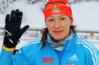 Наталья Бурдыга откроет биатлонный сезон для Украины