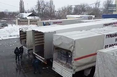 Что находится внутри гумконвоя из России