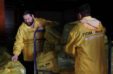 Еще 28 тысяч детских наборов доставит штаб Ахметова на Донбасс