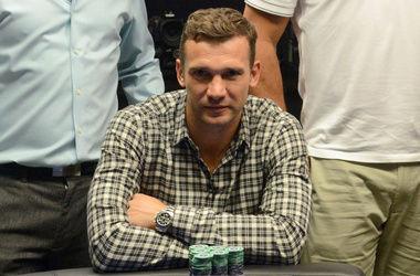 Шевченко выиграл 10 тысяч евро в покер и отдал их на благотворительность