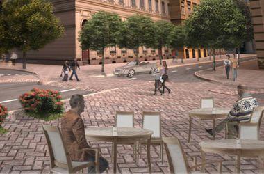 На столичном Подоле могут исчезнуть перекрестки, а улицы - стать узкими