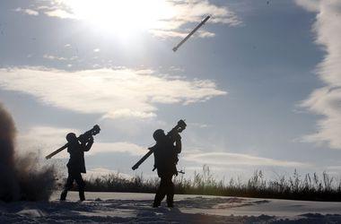 Украинские бойцы в Счастье провели тренировочные стрельбы