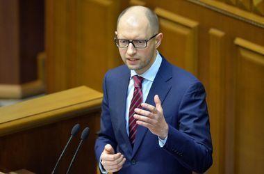 Яценюк попросил начать пленарное заседание, чтобы представить кандидатов в новый Кабмин