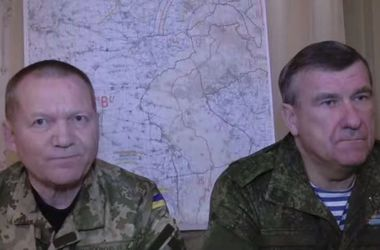 Российская и украинская стороны обнародовали заявление о прекращении огня на Донбассе
