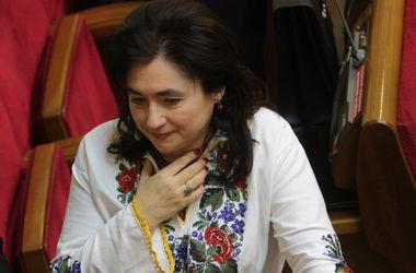 Мария Матиос вступила во фракцию Блока Петра Порошенко