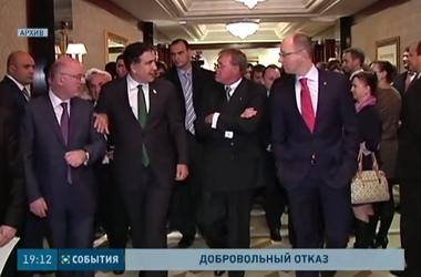 Михаил Саакашвили отказался от кресла вице-премьера в Украине
