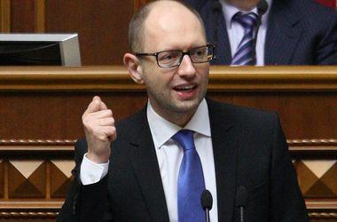"""Яценюк """"подписался"""" под каждой кандидатурой в новый Кабмин"""