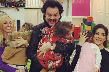 Филипп Киркоров пригласил на день рождения дочери Ани Лорак и Кристину Орбакайте