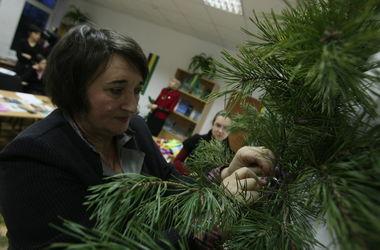 В Киеве пройдет мастер-класс по изготовлению новогодних елок