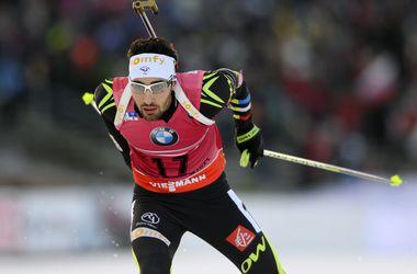 Спринт на Кубке мира по биатлону в Швеции выиграл Мартен Фуркад