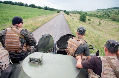 За  прошедшие сутки  ранены 7 украинских военных  - СНБО